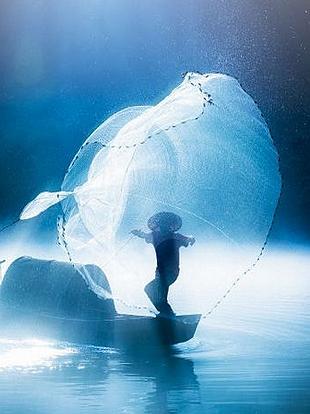 手工制作水下动物