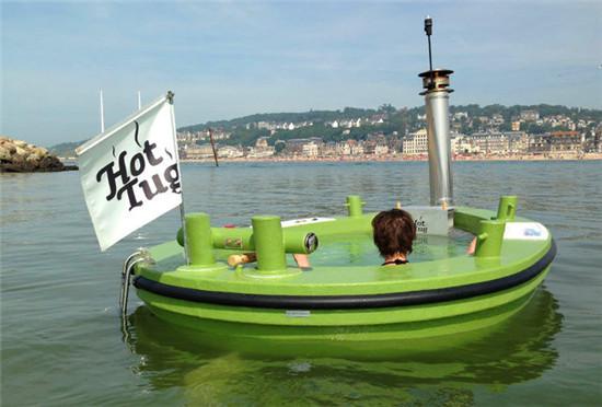热拖船浴缸