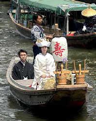 日本的婚礼(网络图片)