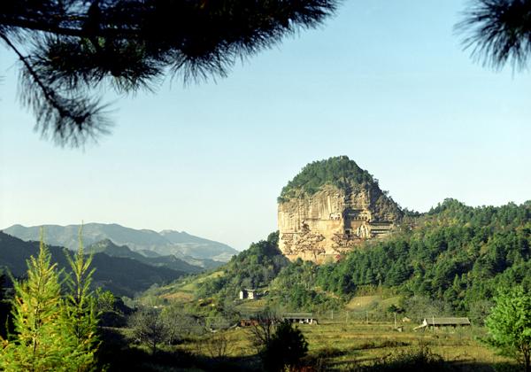 麦积山名胜风景区