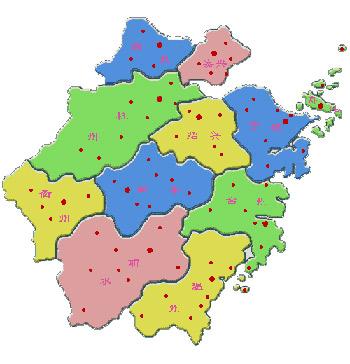 地图 浙江/浙江地图全图高清版/ 陈...