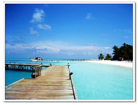 天堂马尔代夫:一不小心坠入印度洋