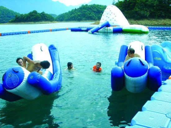庐山西海温泉游玩