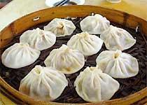 汤美肉鲜的西安名吃 灌汤包子(图)