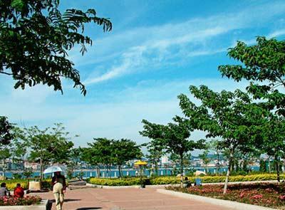 中国山东青岛4a级景区青岛海滨风景区