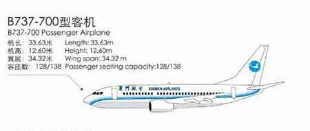 波音-737-700机型图