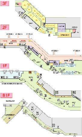 福冈机场美食分布:第2候机楼