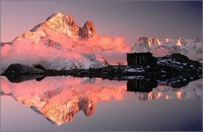 阿尔卑斯的少女峰