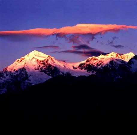 美丽的梅里雪山