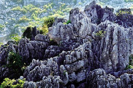 红军长征出发地:云石山