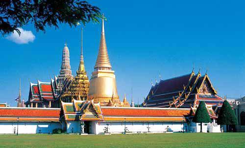 """被称为""""泰国艺术大全""""的曼谷大皇宫"""