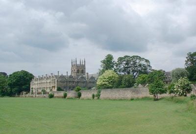 牛津大学风景