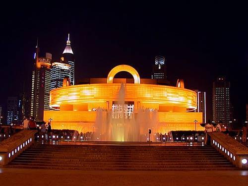 上海博物馆夜景