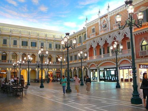 著名的威尼斯人酒店