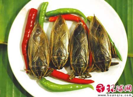 油炸水甲虫(泰国 曼谷)