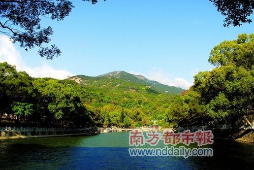 罗浮山是南粤第一山