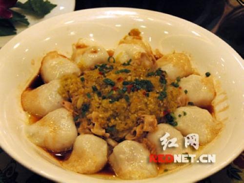 米饺蒸鱼肚