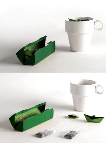 创意小船茶包