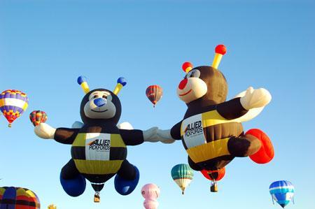 """两只牵手的""""蜜蜂""""同时升空难度肯定不小"""