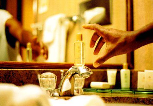 高档酒店的沐浴产品也很不错