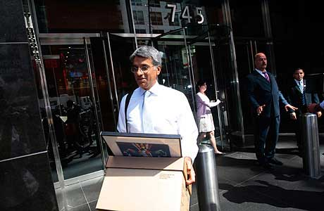金融风暴让很多从事金融业的美国人失业