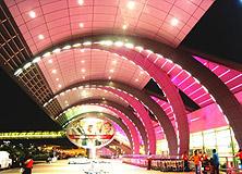 迪拜机场购物
