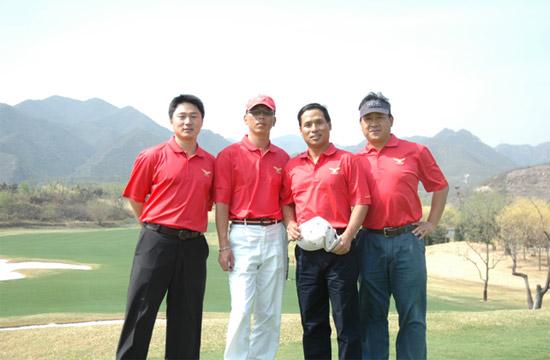 奥迪鹰之队高尔夫队内联谊赛太伟高尔夫球场举行