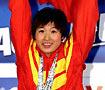 罗雪娟50米蛙泳夺冠