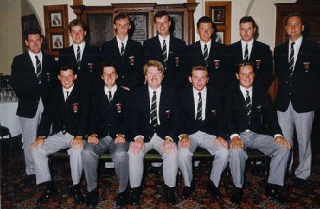 1993年 李-维斯特伍德代表英格兰高协参加男孩Home国际对抗赛赛。同年转了职业