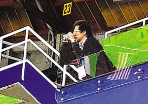 韩国队便衣偷拍中国训练