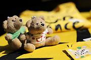 泰迪熊助阵
