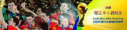 南非世界杯西班牙夺冠