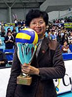 杨玛�P:排球联赛要想职业化要解决三个问题