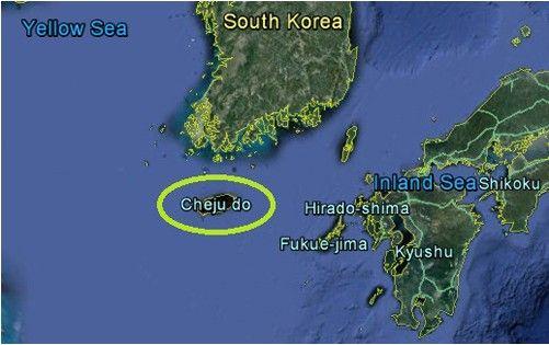 济州岛地理位置优越,位于朝鲜半岛南部仅64公里处,是韩国最大的