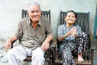 中奖老人和老伴