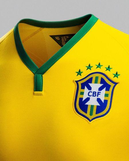 耐克发布巴西国家队2014年新款球衣_我为鞋狂