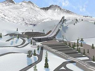 高尔基俄罗斯跳台滑雪中心