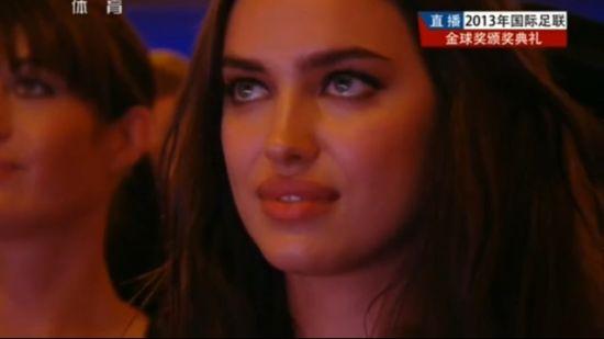 C罗女友伊莲娜眼含热泪