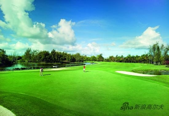在天堂原乡遇见高尔夫