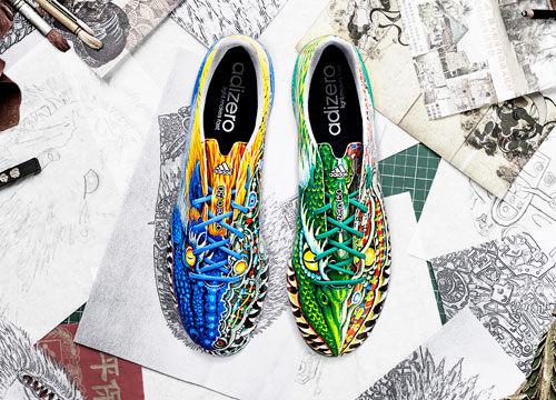 限量版山本耀司adizero f50战靴
