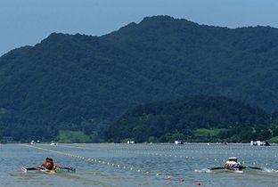 仁川亚运会场馆-忠州弹琴湖国际赛艇中心(赛艇)