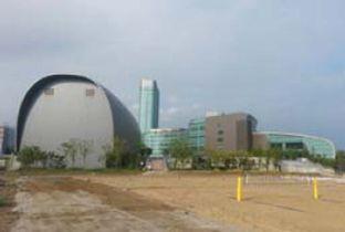仁川亚运会场馆-松岛国际大学沙滩排球运动场(沙滩排球)