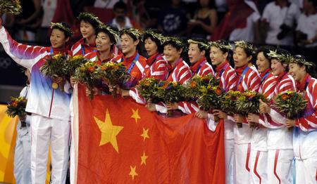2004年雅典奥运会夺冠(1)