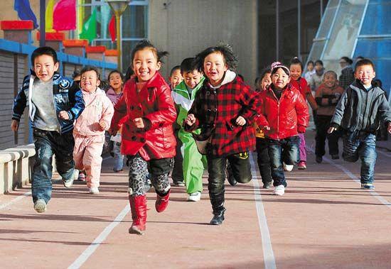 幼儿在跑步时出现常见问题纠正方法