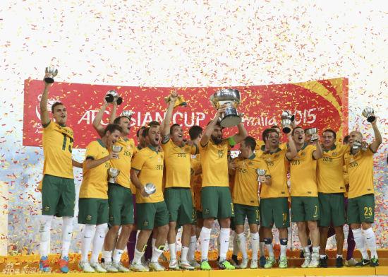 澳大利亚夺得亚洲杯