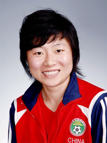 图文-中国女足奥运代表团 徐媛