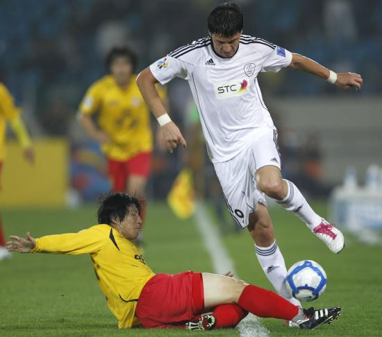 图文-城南一和挺进亚冠决赛在中场就积极防守