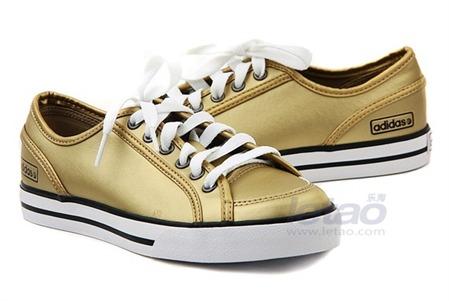 Adidas阿迪 女子经典鞋 Neo-Baseline Met Ed   G31367
