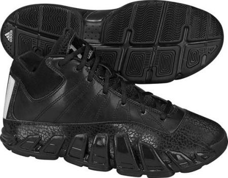 阿迪达斯 男子 篮球鞋 G21130/一号黑/亮白/银金属