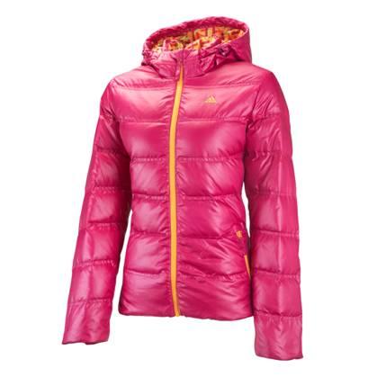 阿迪达斯 羽绒服 P86429完美紫红/完美橙